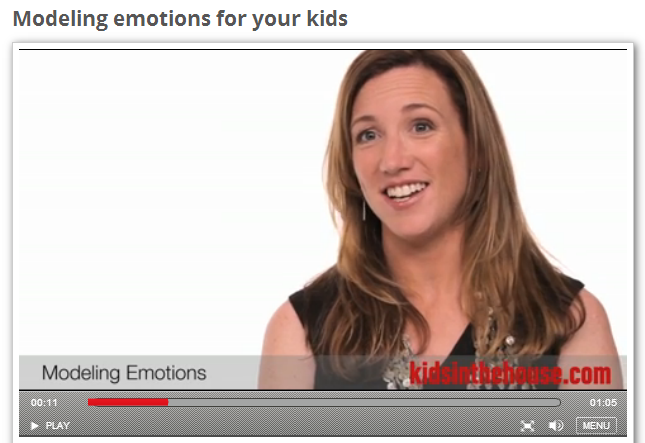 Modeling Emotions for Your Kids